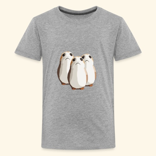Chubby and adorable hamsters. - Kids' Premium T-Shirt
