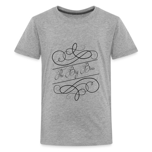 The Big Boss - Kids' Premium T-Shirt