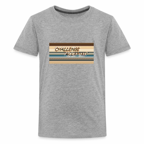 challenge accepted - Kids' Premium T-Shirt