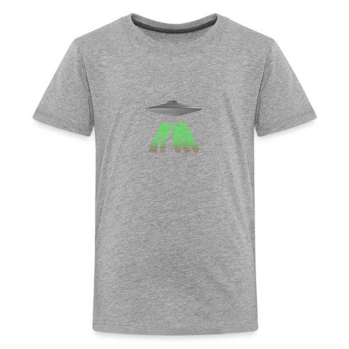 ET 808 'UFO Green' Logo - Kids' Premium T-Shirt