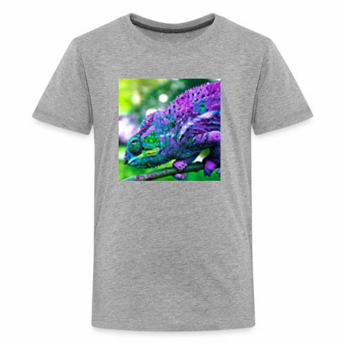Camera Chameleon - Kids' Premium T-Shirt
