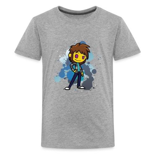 Darkar Paint Blue - Kids' Premium T-Shirt