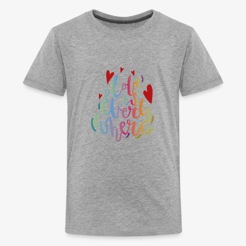 Love is everywhere - Kids' Premium T-Shirt