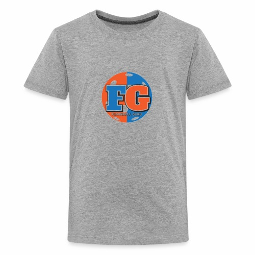 Floorball Guru Logo - Kids' Premium T-Shirt