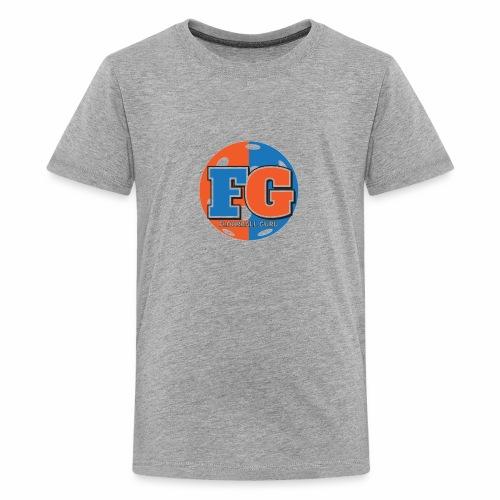 Floorball Guru Logo - Kids' Premium T-Shirt