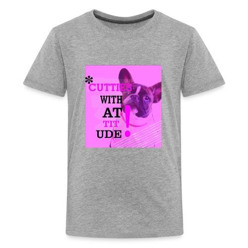 Cutties with Attitude - Kids' Premium T-Shirt