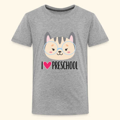 Preschool 1st Day of School - Kids' Premium T-Shirt