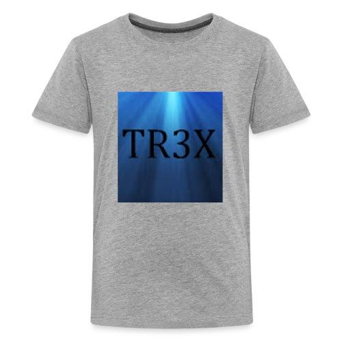 Tr3x Logo Merchendise - Kids' Premium T-Shirt