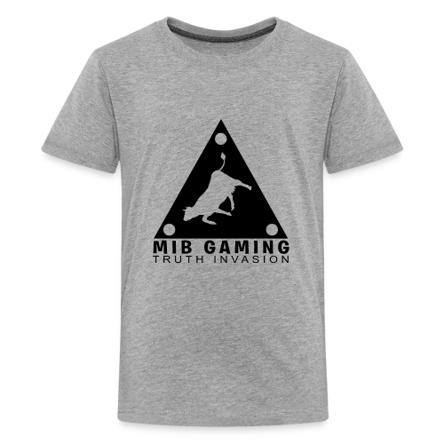 MIB LOGO: TRUTH INVASION TRIANGLE UFO - Kids' Premium T-Shirt