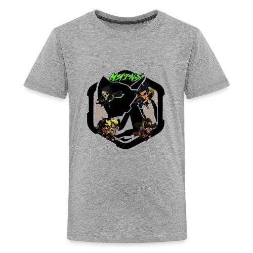 Acidtheinsane's Overwatch Mains - Kids' Premium T-Shirt