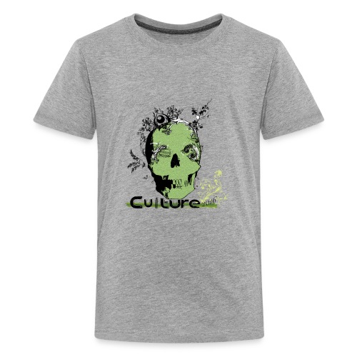 Culture_Creative_Skull - Kids' Premium T-Shirt