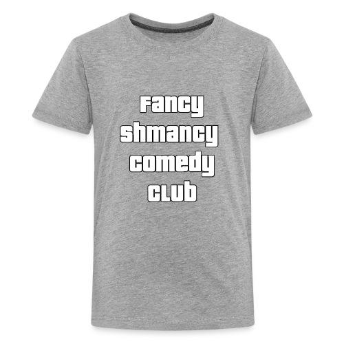 Fancy Shamncy Comedy Club - Kids' Premium T-Shirt