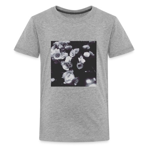 the roses have not been painted red...yet - Kids' Premium T-Shirt