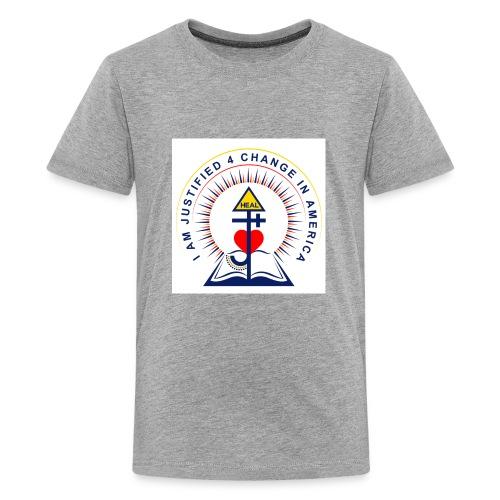 Change In America - Kids' Premium T-Shirt