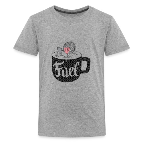 Coffee is Fuel - Kids' Premium T-Shirt