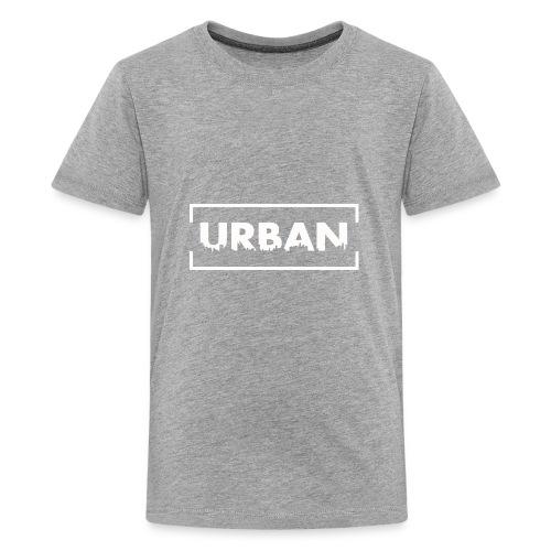 Urban City Wht - Kids' Premium T-Shirt
