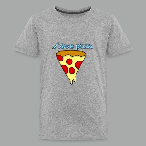 I love pizza - Kids' Premium T-Shirt