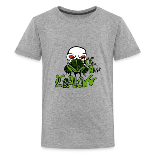 Leaking Gas Mask - Kids' Premium T-Shirt