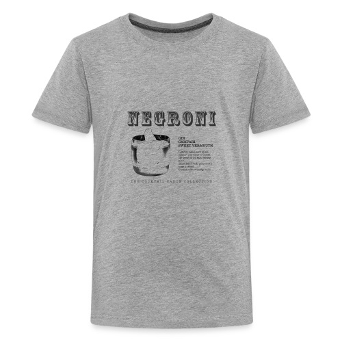 NEGRONI - THE COCKTAIL CANON COLLECTION #1 - Kids' Premium T-Shirt