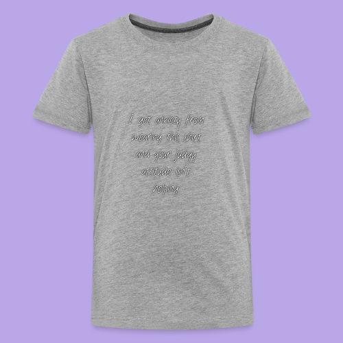 Anxiety W/O quote - Kids' Premium T-Shirt