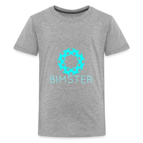 Bimster YouTube Channel Logo - Kids' Premium T-Shirt