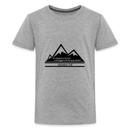 Habakkuk 3:18 - Kids' Premium T-Shirt