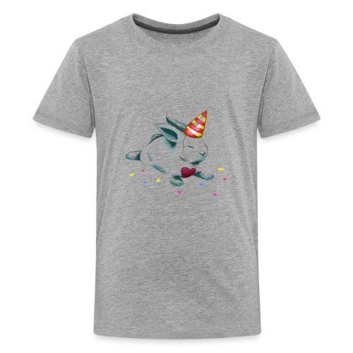 Birthday Bunny (or Unicorn Bunny) - Kids' Premium T-Shirt
