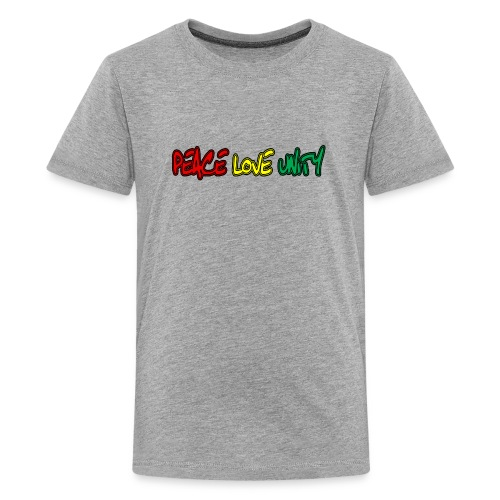 Peace Love Unity - Kids' Premium T-Shirt