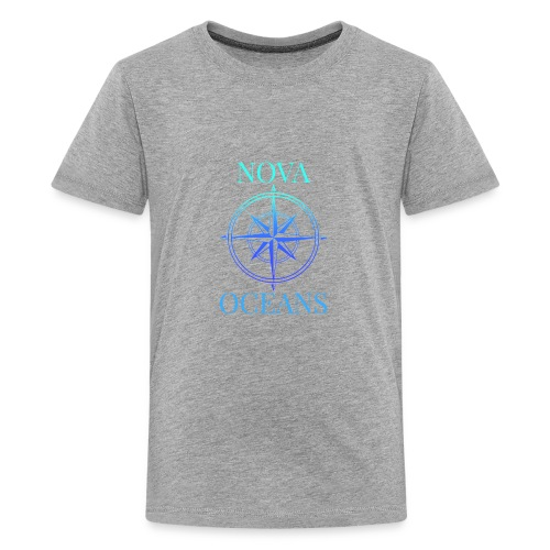 logo_nova_oceans - Kids' Premium T-Shirt