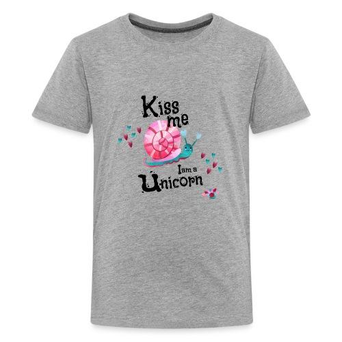 Kiss me - I am Unicorn - Kids' Premium T-Shirt