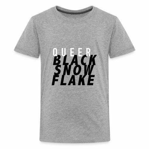 #queerblacksnowflake - Kids' Premium T-Shirt