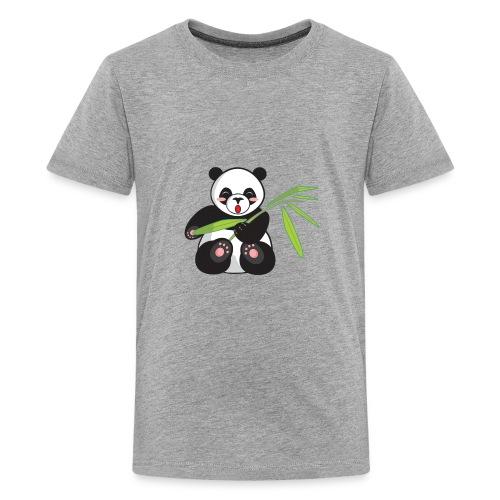 Cute And Super Fat Panda - Kids' Premium T-Shirt