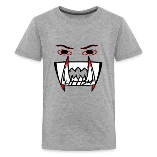 Littism Vampire Glory Face - Kids' Premium T-Shirt