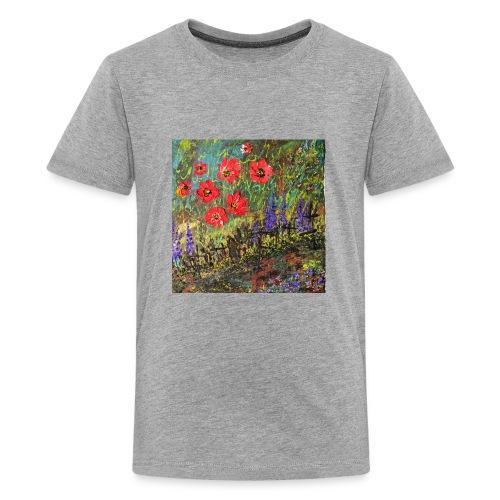 IMG 7260 Spring garden - Kids' Premium T-Shirt