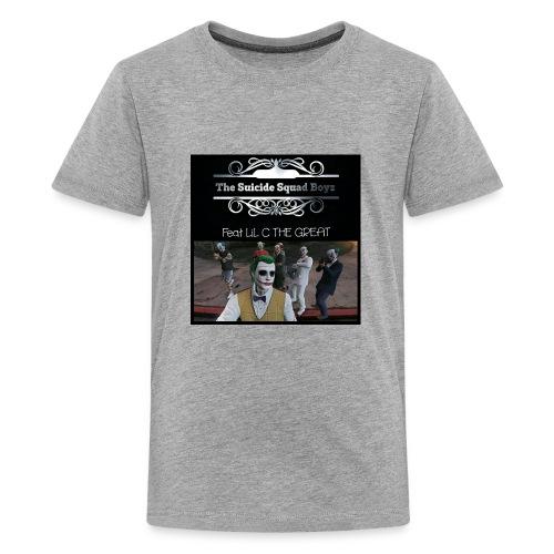 Suicide Squad Boyz crew t shirt with crew pic - Kids' Premium T-Shirt