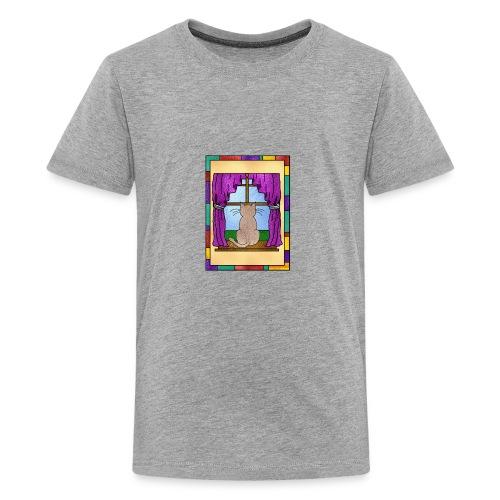 DayDreaming Cat - Kids' Premium T-Shirt