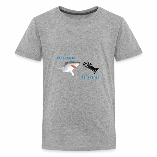SHARK OR THE FISH? - Kids' Premium T-Shirt