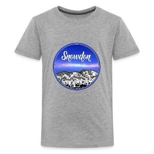 Mount Snowdon - Kids' Premium T-Shirt