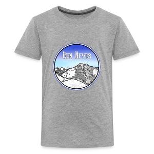 Ben Nevis Mountain - Kids' Premium T-Shirt