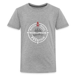 Prestige WorldWide Boats and hoes - Kids' Premium T-Shirt