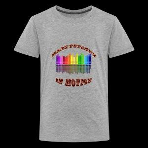 Marky Stacks In Motion - Kids' Premium T-Shirt