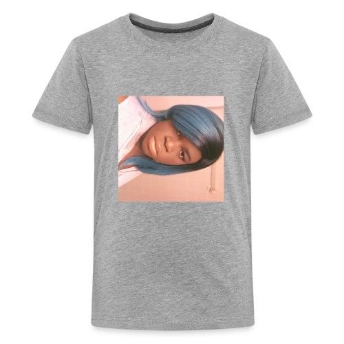 Pouting girl - Kids' Premium T-Shirt