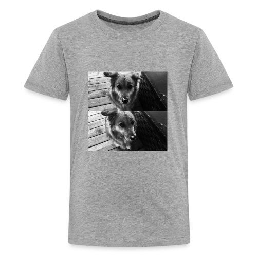 snow dog - Kids' Premium T-Shirt