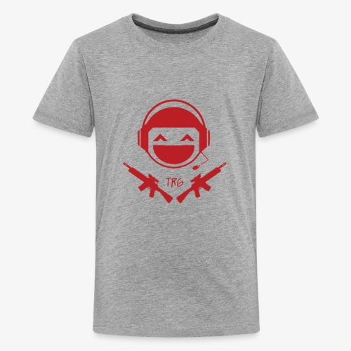 TRG Logo transparent Large - Kids' Premium T-Shirt