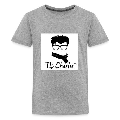 Its Charlie Logo - Kids' Premium T-Shirt