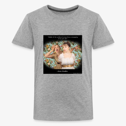 Jane Austen Quote Shirt - Kids' Premium T-Shirt
