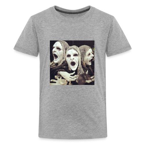The three scary ghost... - Kids' Premium T-Shirt