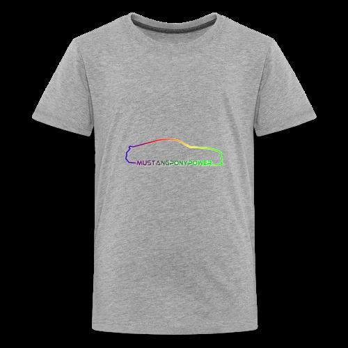 mustangponypower - Kids' Premium T-Shirt