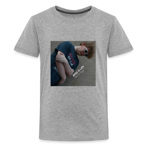 Bars is life Mixtape cover - Kids' Premium T-Shirt