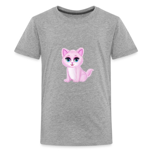 Cute Kitty Cat - Kids' Premium T-Shirt